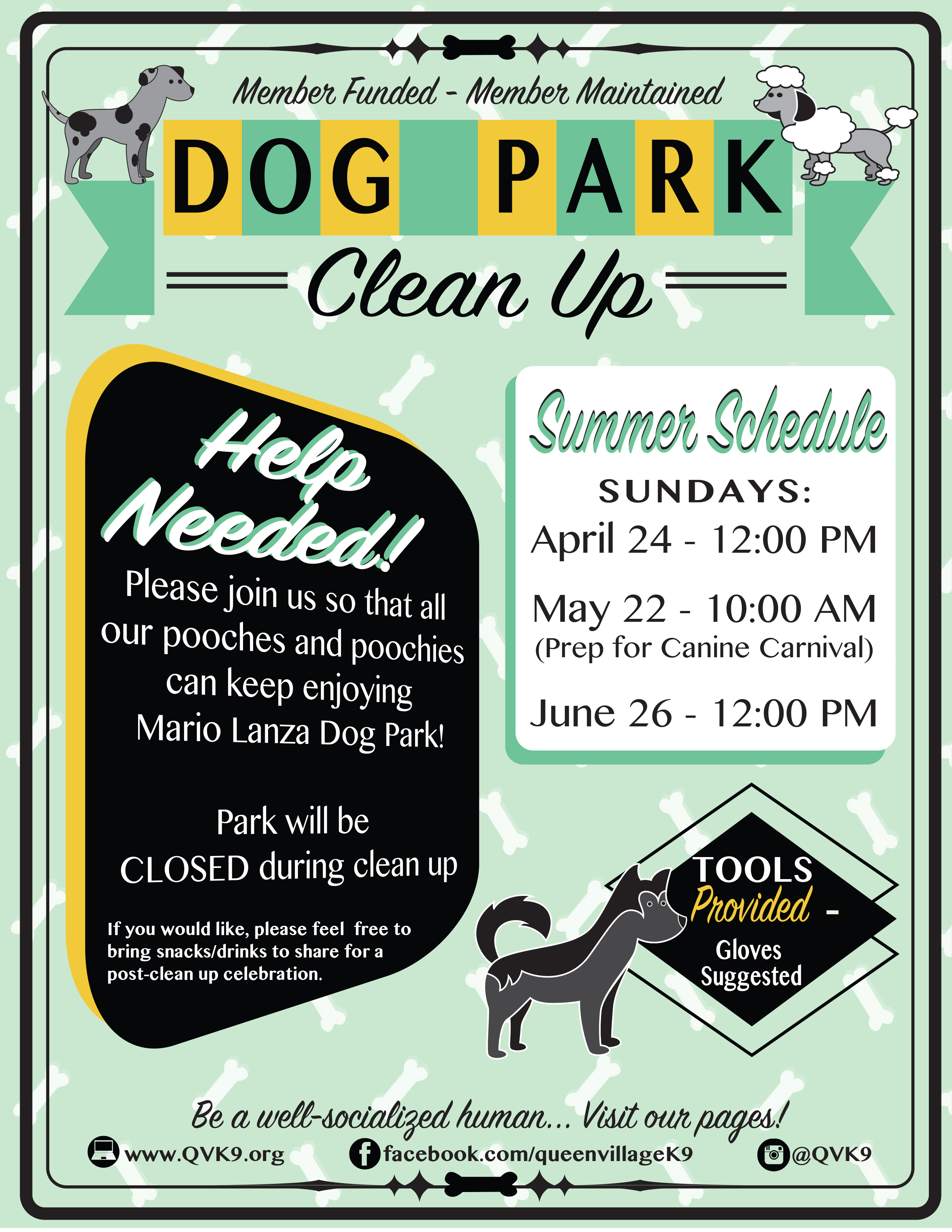 Summer Clean Up Flyer April 24
